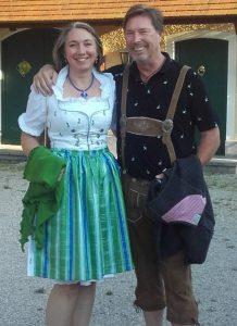 Wolfgang Müller und Silvia Martinek